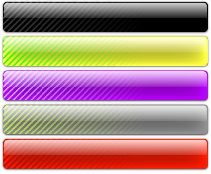 Free Vector Glass Bar Set - Diagonal Striped