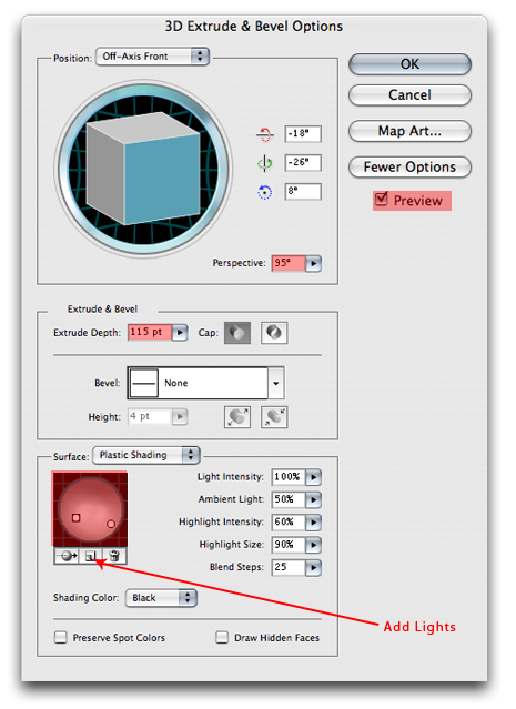 Illustrator 3D 6