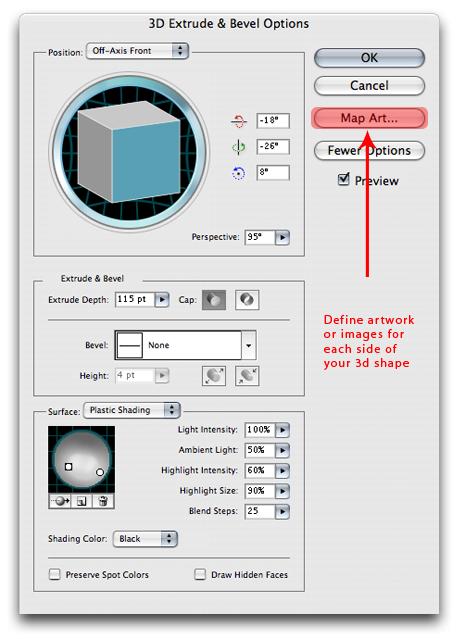 Illustrator 3D 7