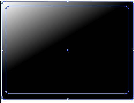 Vector Fading Corner