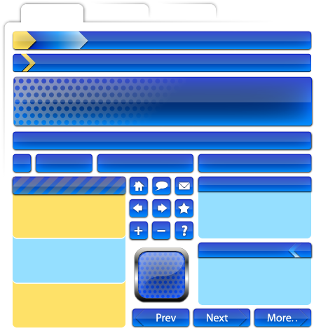 Free Vector Web Page Elements Part 2