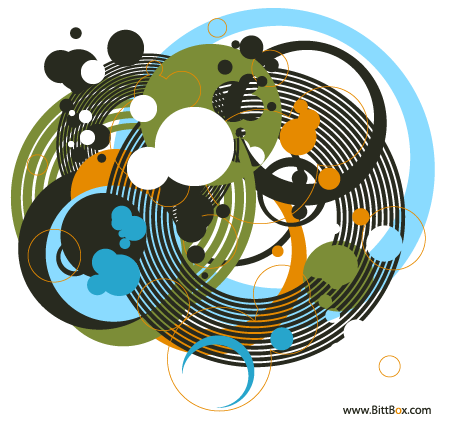 Random Free Vectors Part 1 – Circles | BittBox