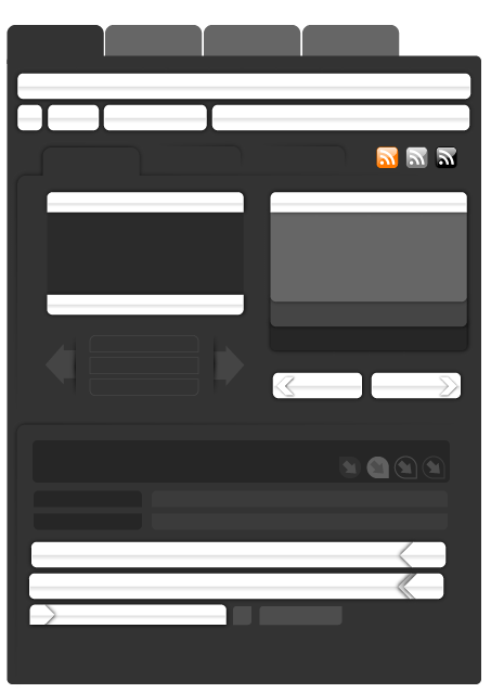 Free Vector Web Page Elements Part 3