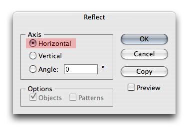 Vector Web 2.0 Logo Reflection in Illustrator 5