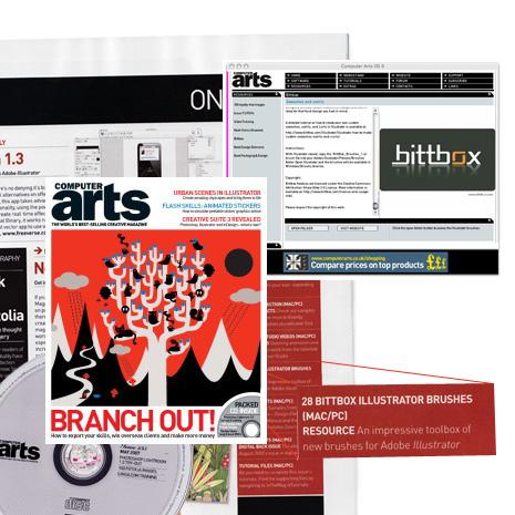 BittBox Featured in Computer Arts 135