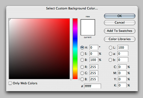 Customize the Color of Your Photoshop CS3 Artboard