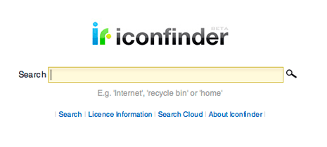 Web Designer Essential Resource: Iconfinder