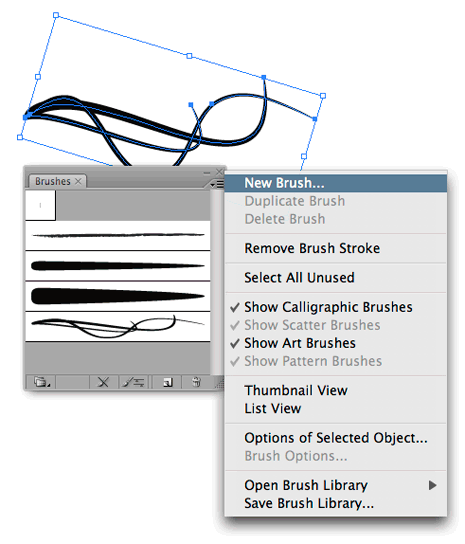 Illustrator Brush-Making Tip: Colorization Method