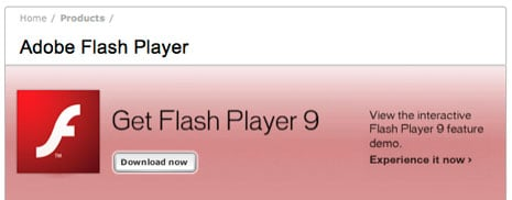 Flash Player 9 Update