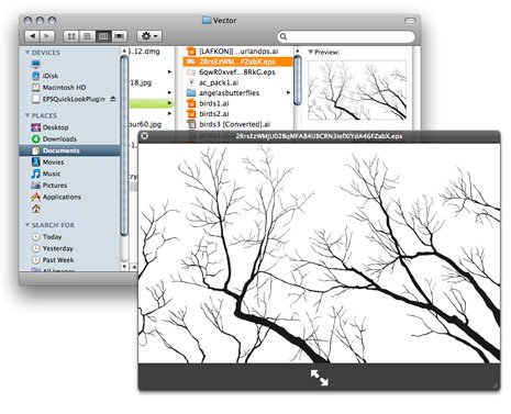 Workflow: Preview EPS Files in Finder and QuickLook