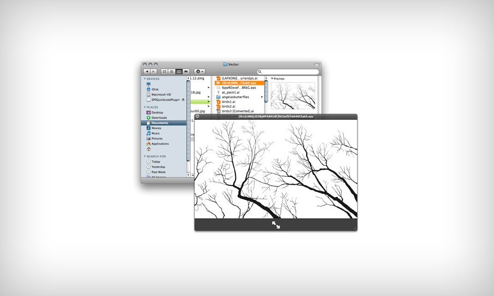 Workflow preview eps files in finder and quicklook bittbox how to set the default program to open a certain type of file in mac os x ccuart Image collections