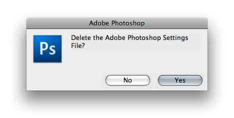 Fix A Broken Photoshop Without Re-Installing