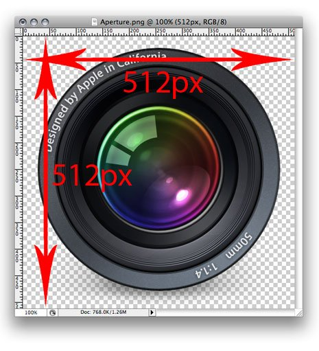 OS X: Convert Any ICNS Icon to 512 x 512 Image File