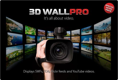Free Stuff: Flashloaded 3D Wall PRO Components (3) - Comment to Win