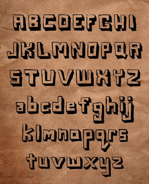 BB Free Font: Blox Demo Version