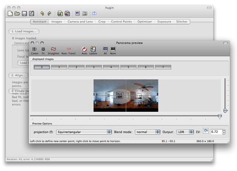 Freeware Find: Hugin Photo Stitcher