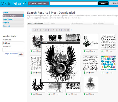 Vectorstock Launches Re-Design, Adds