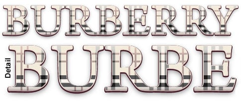 Illustrator Tutorial: Dynamic Burberry Text