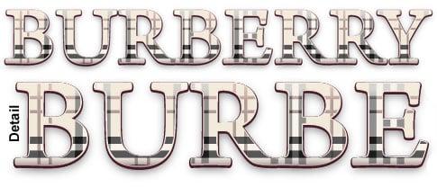 Illustrator Tutorial: Dynamic Burberry Text