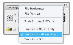 Step 03c - Transform setting