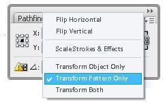 Step 03c - Transform setting