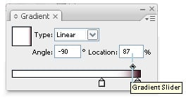 step 07e - gradient editing