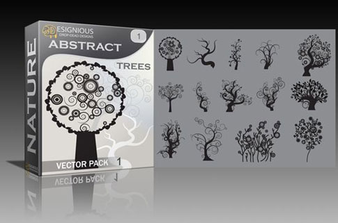 309 Vector Pack Winners *Abstract Trees*