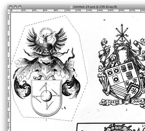 Photoshop Tutorial: Destroyed Heraldry