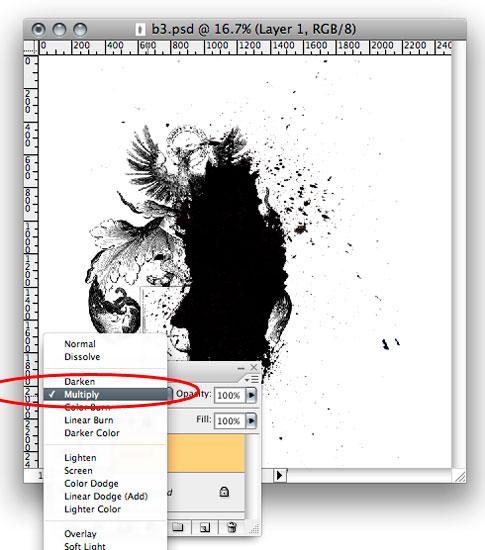 Photoshop Tutorial: Destroyed Heraldry