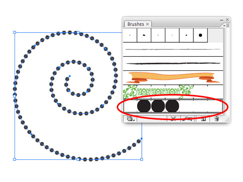 How to make a dotted line in Illustrator