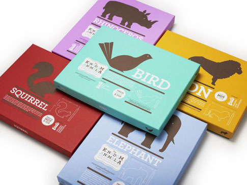 100+ Minimal and Typographic Package Designs