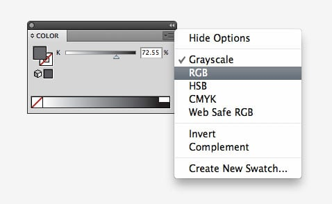 Illustrator 101: How to Fix The Annoying Grayscale Color Problem