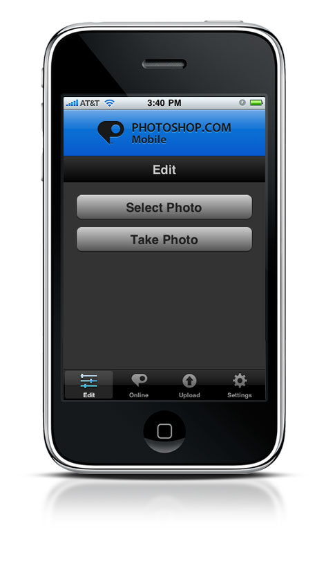 Photoshop.com App for the iPhone