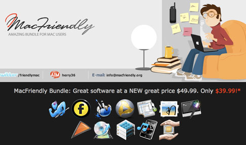 Only 2 Days left for the MacFriendly Bundle