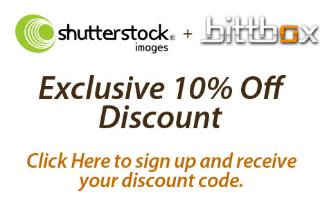 BittBox Exclusive: 10% Shutterstock Discount
