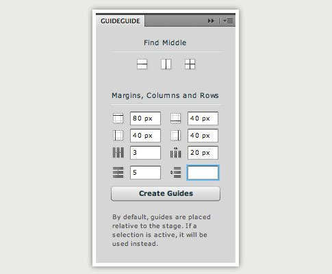 Must-Have (Free) Photoshop Plugin: GuideGuide [CS4, CS5]