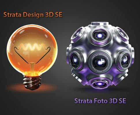Free Stuff: Strata Design 3D SE + Strata Foto 3D SE Bundle - Comment to Win