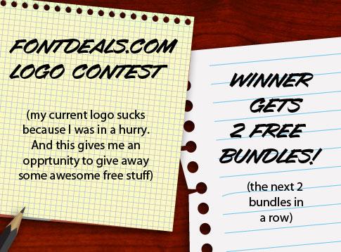 FontDeals.com Logo Contest
