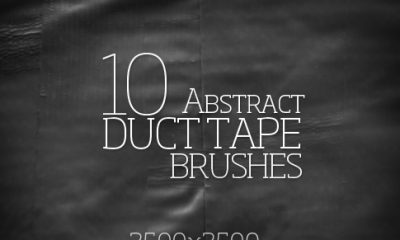 Bittbox Freebie Friday Abstract Duct Tape brush promo image