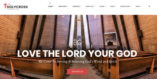 32 Creative Premium Church Themes for WordPress