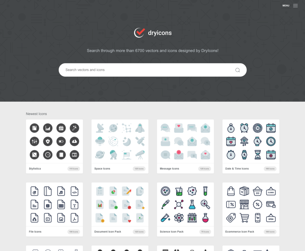 Free SVG Icons - DryIcons.com