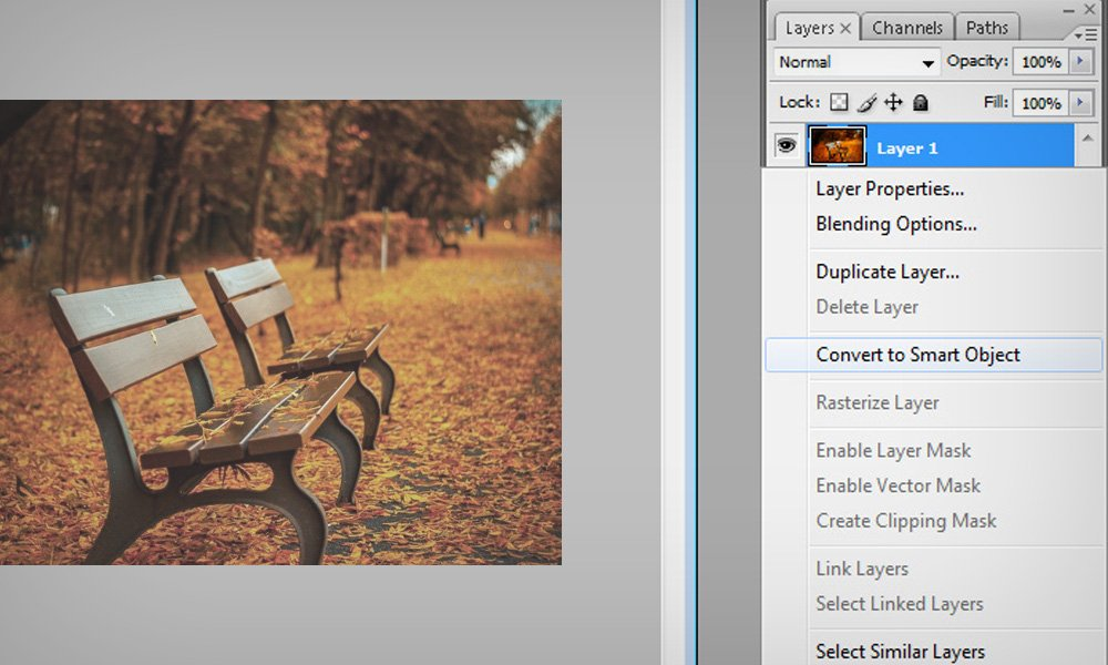 How to make Non-Distructive Filters in Photoshop