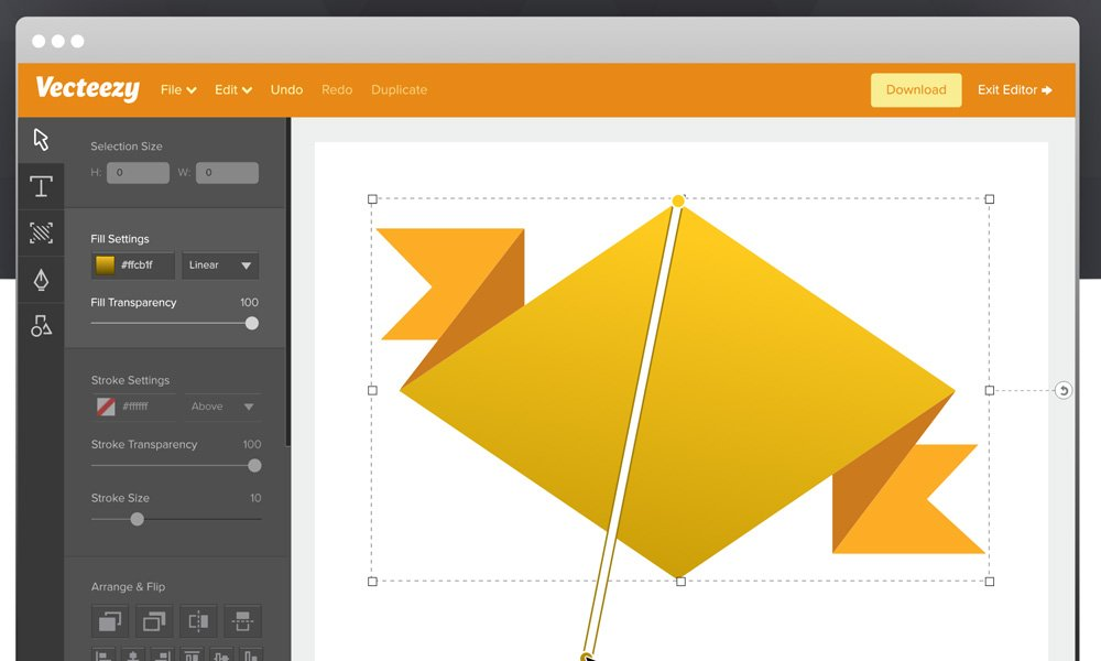 Free SVG Editor by Vecteezy