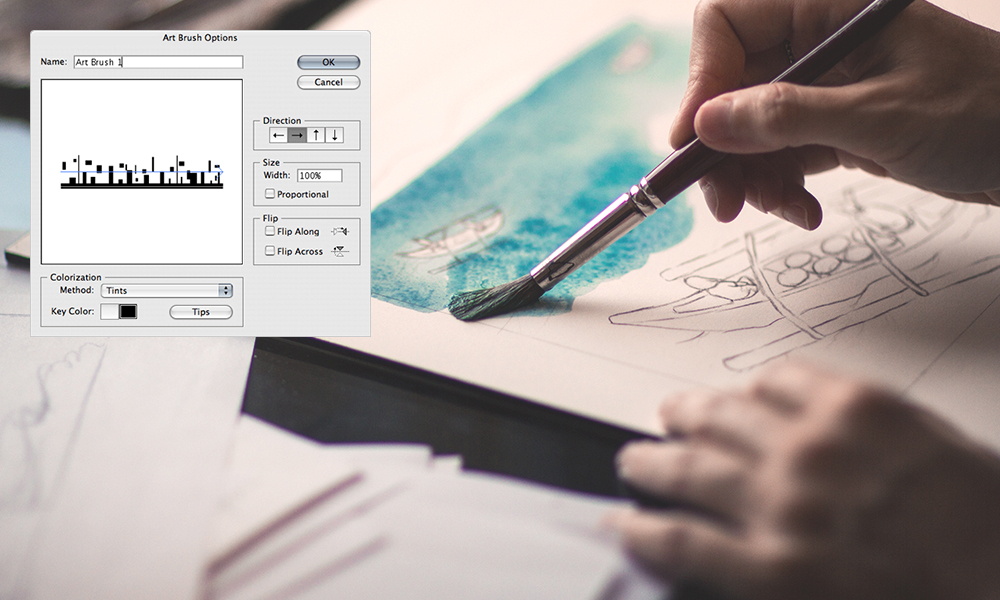 Photo To Line Art Converter Free Download : How to make a custom illustrator brush