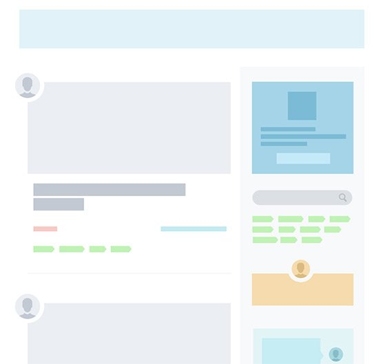 colorful wireframe example
