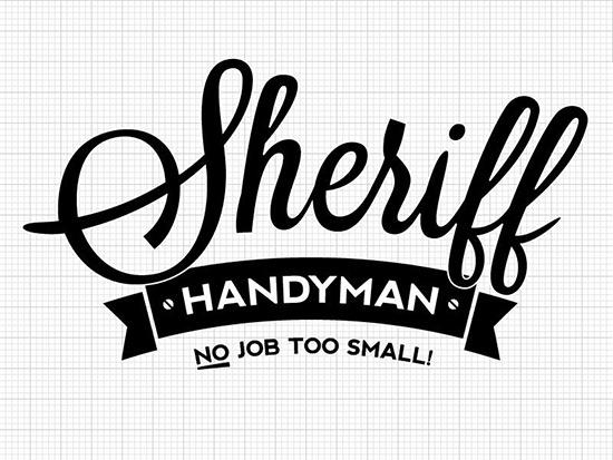sheriff handyman logo