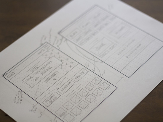 creative south wireframe