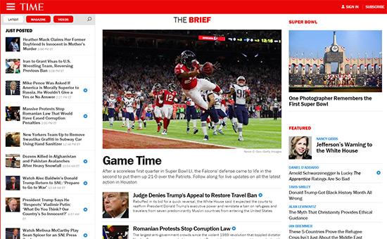 time.com homepage