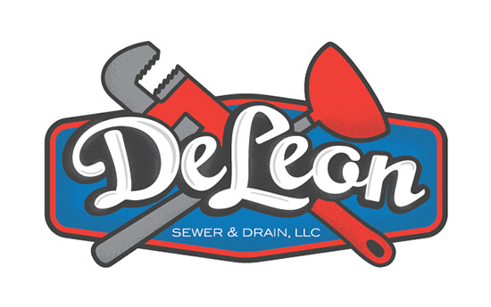 deleon plumbing logo