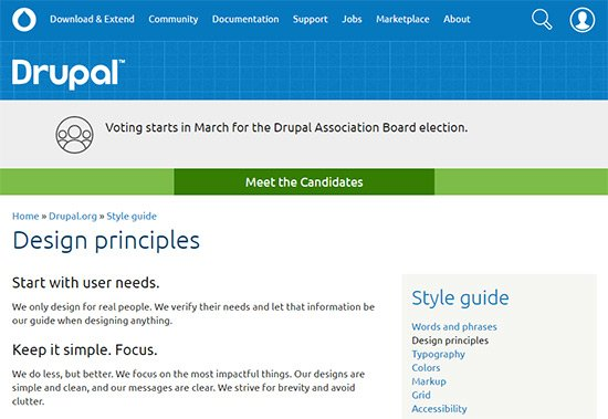 drupal style guide